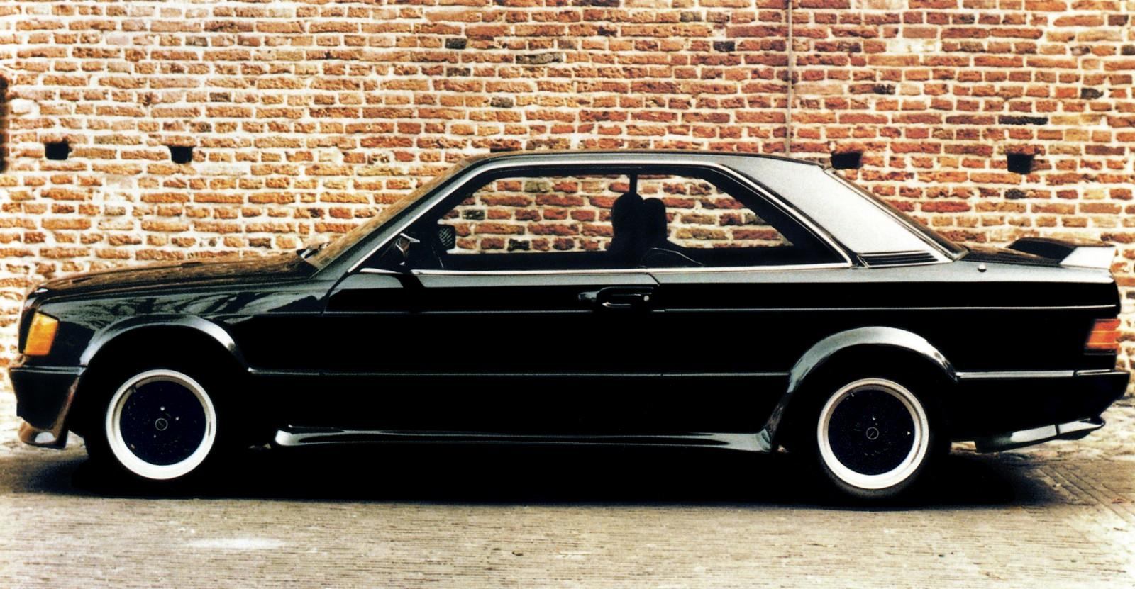 Schulz Tuning erbjöd Mercedes 190 både som en CE Coupé och...