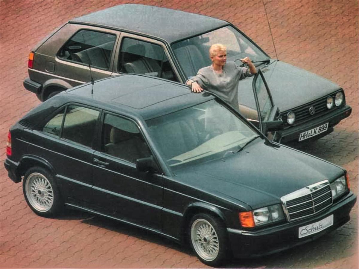 I jämförelse med en Schulz City framstår en Volkswagen Golf MkII som väldigt spartansk.