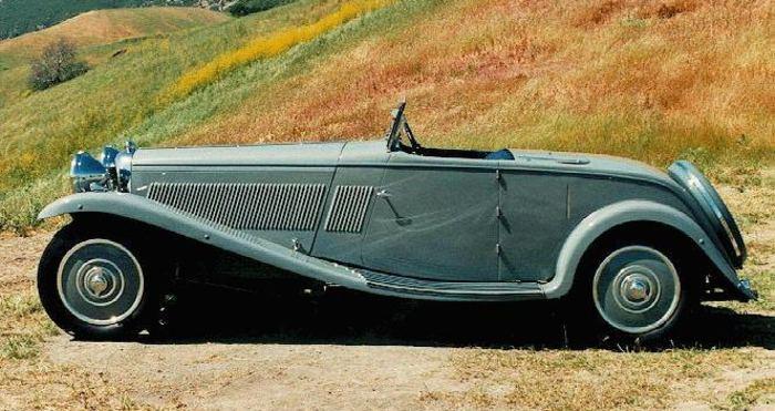 Lagonda M45 roadster 1934 med karosseri från Wylders of Kew