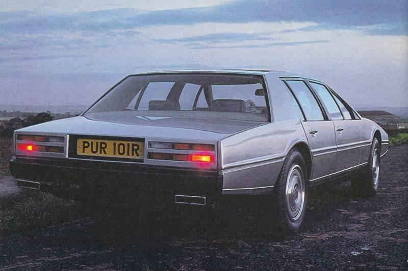 Aston Martin Lagonda som vi mest känner igen den.