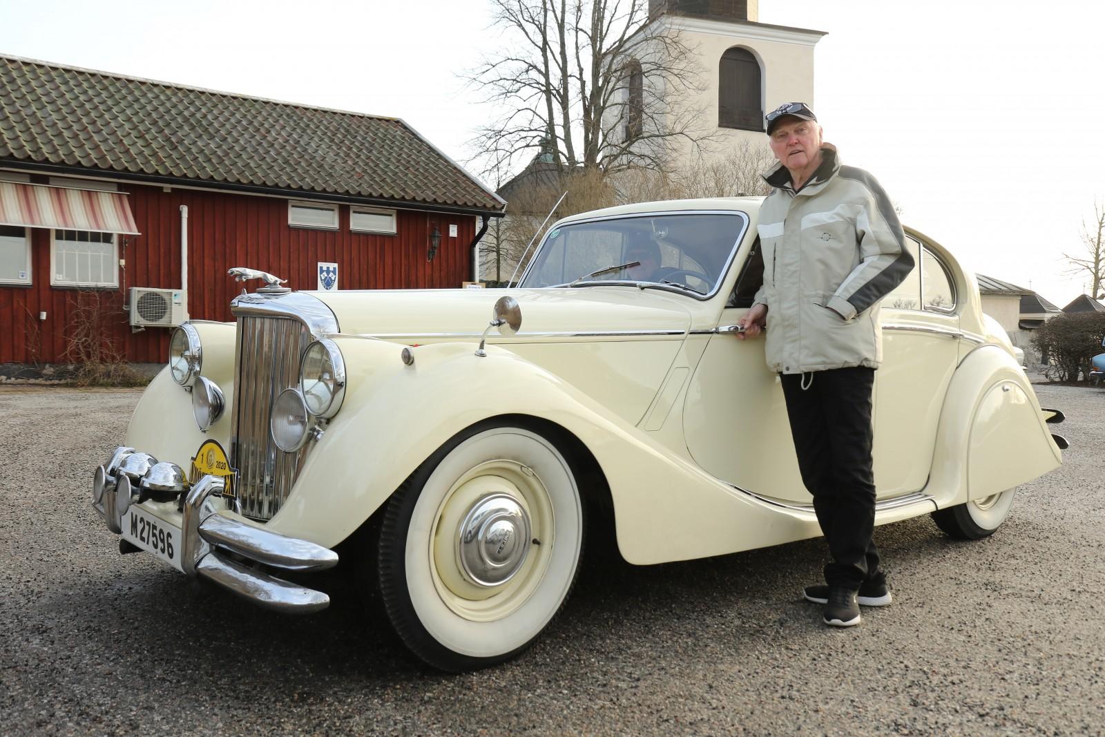Thomas Ekström visade upp sin Jaguar Mk V 1950 i Läsarnas Klassiker i nr 3/20.