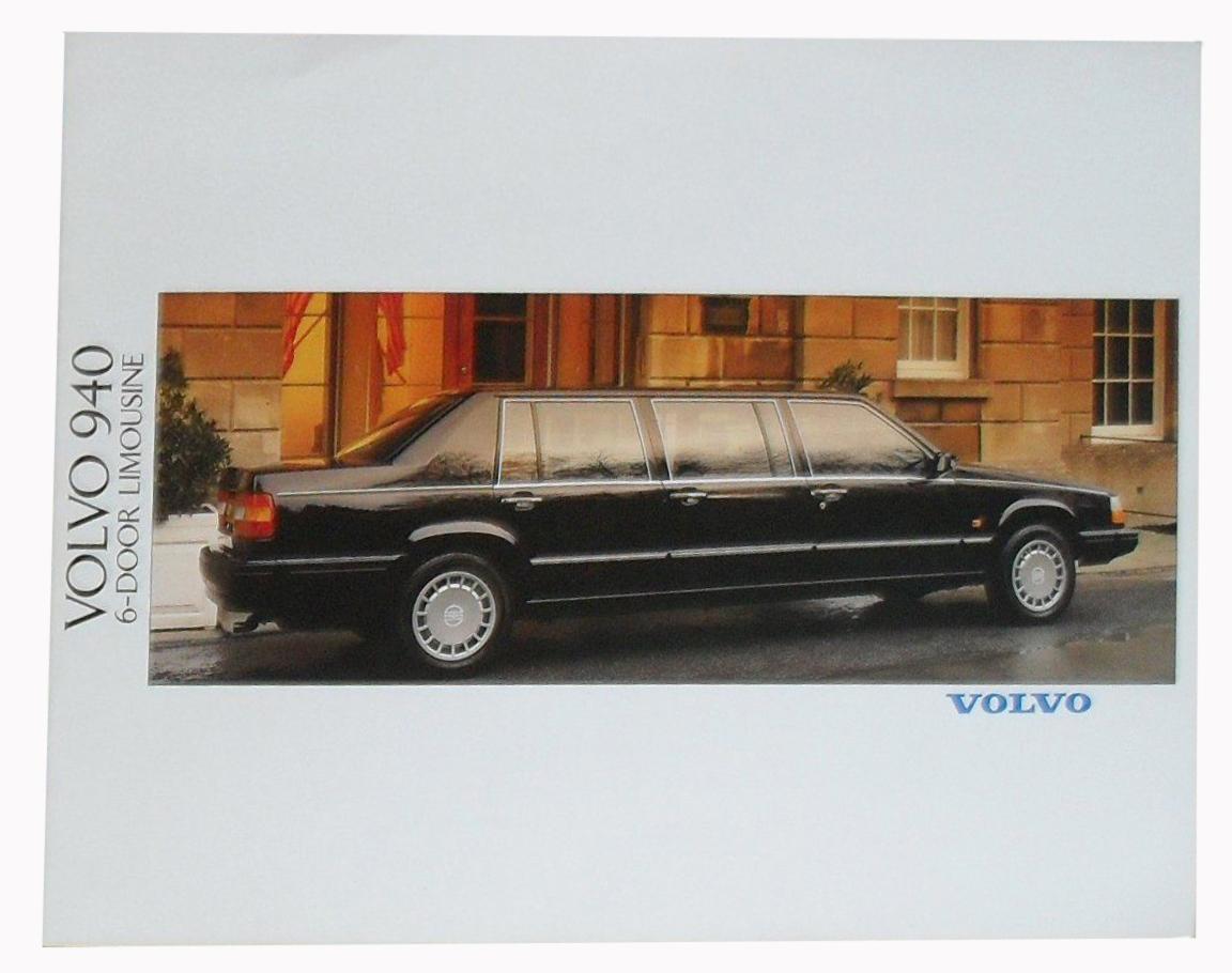 Volvos första sexdörrarsbil