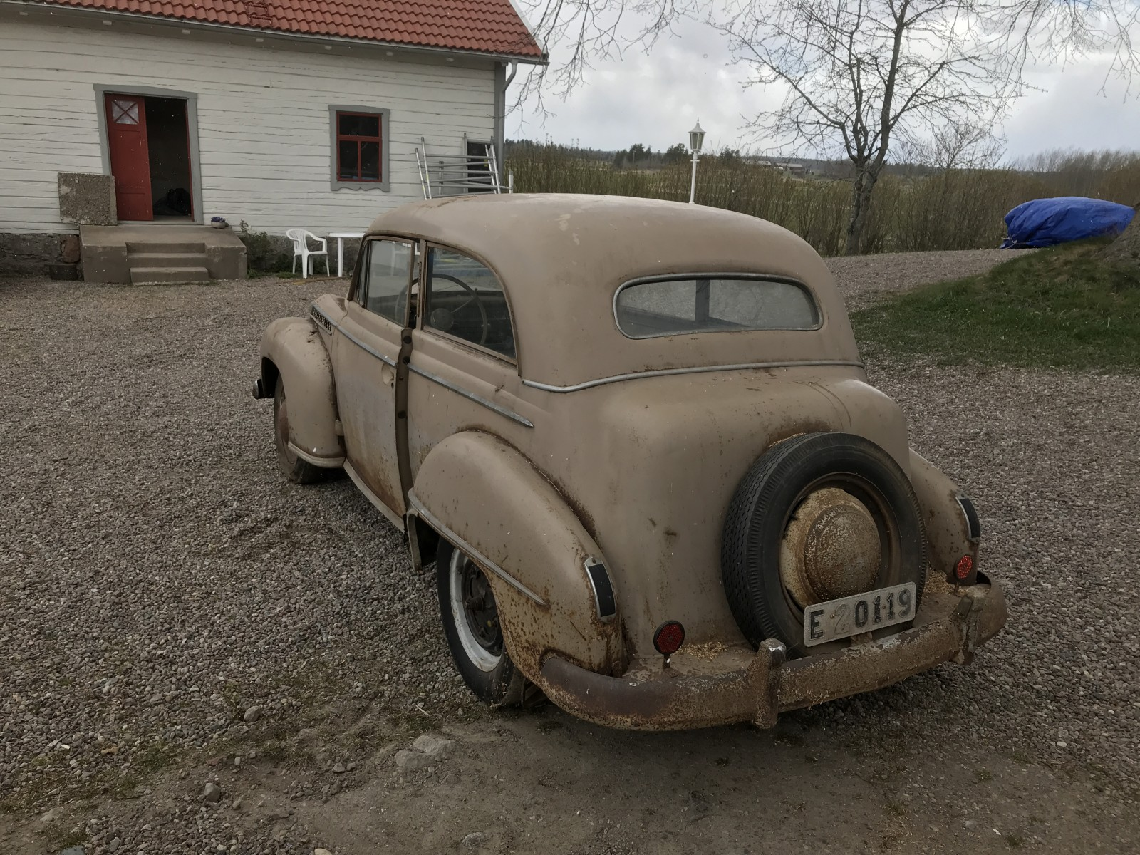 Opel Olympia med samma ägare sedan 1950!