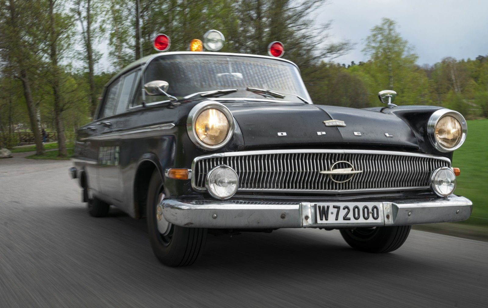 När Opel var polisbil