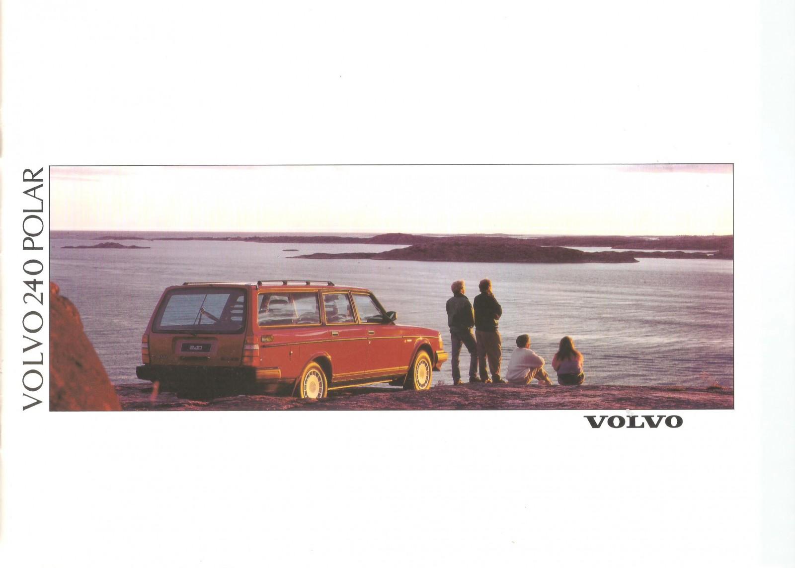 Svensk vy på omslaget till  den italienska 240 Polar-broschyren.