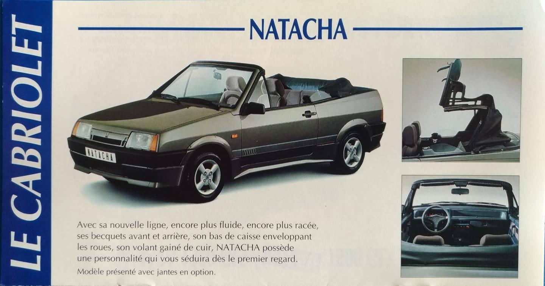 Ladan från Belgien - Natacha