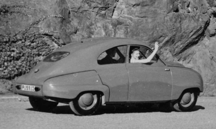 Hjulhuskanterna tycks ha en liten annorlunda skärning jämfört med produktionsmodellerna. Kanske en synvilla?