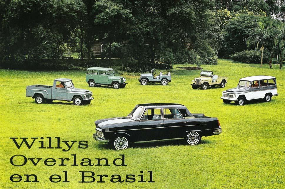 Willys do Brasil 1965