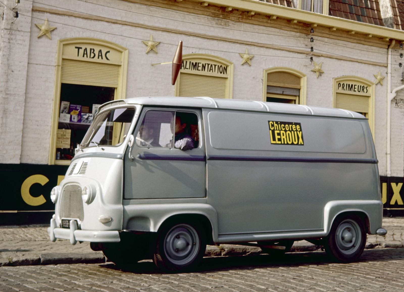 Estafette var Renaults första framhjulsdrivna bil.