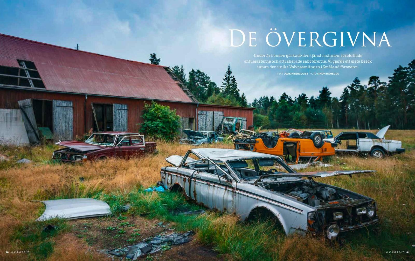 En samling ovanliga Volvomodeller som mött ett öde de inte förtjänar. Vi var där innan allt försvann.