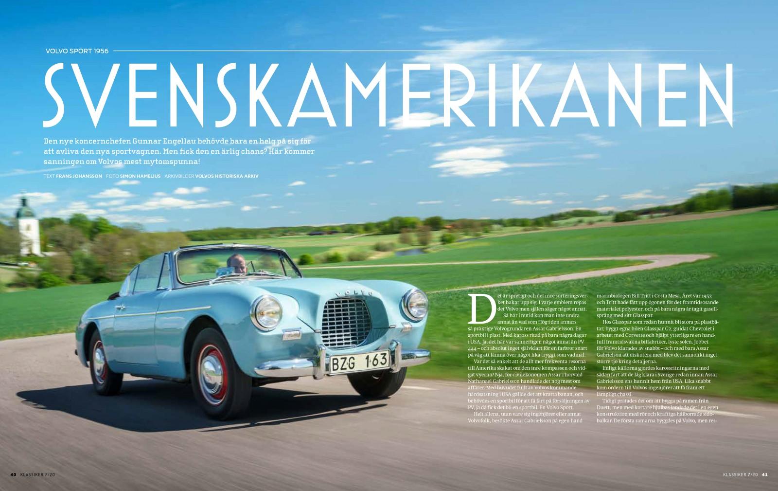 Semester i polyester! Allt om den mytomspunna Volvo Sport – bättre än sitt rykte? Defintivt!