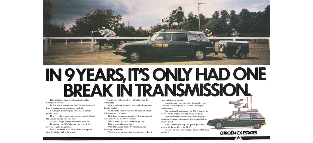 Citroën i BBC:s tjänst