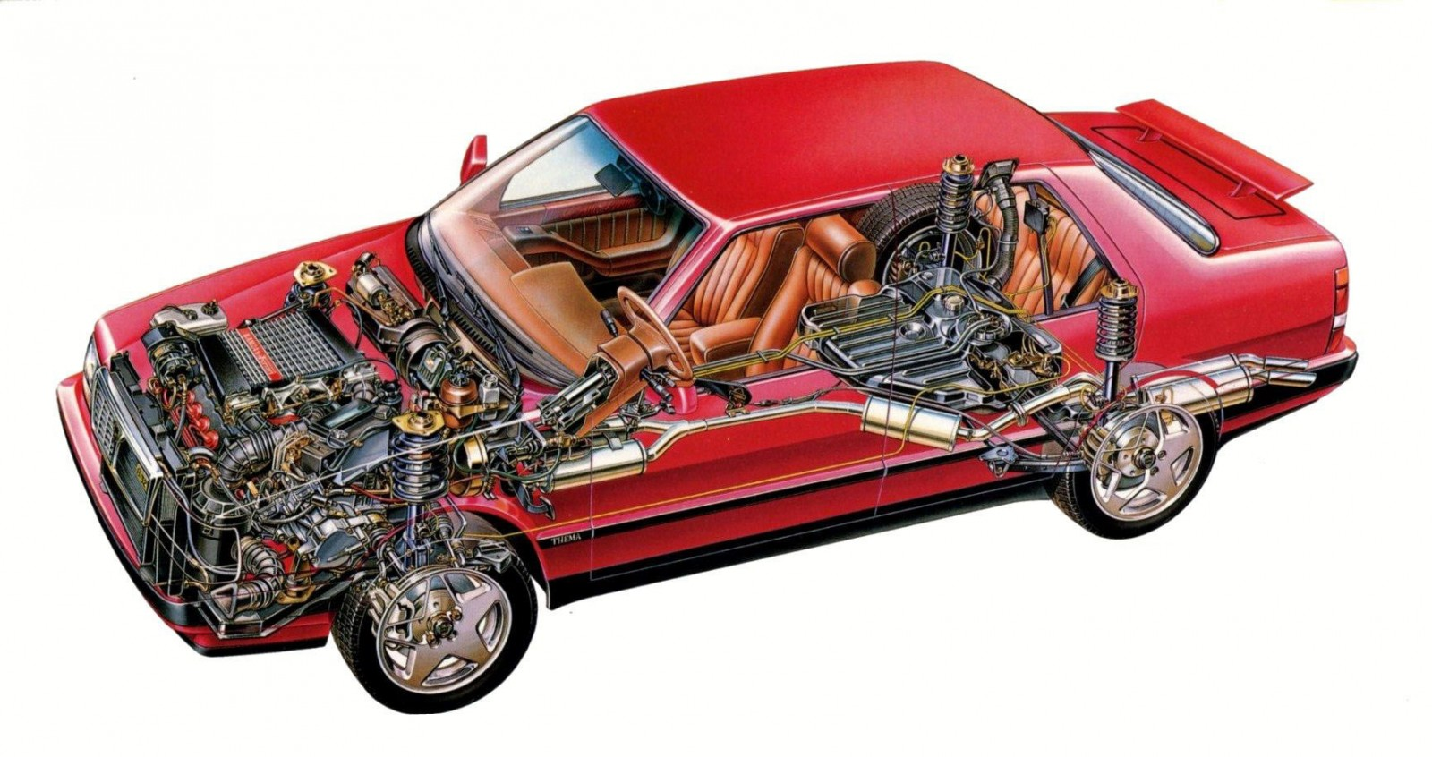 Utmanaren från Lancia - Thema 8.32