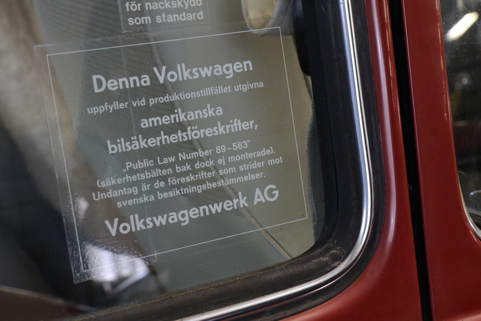 Volkswagen på auktion