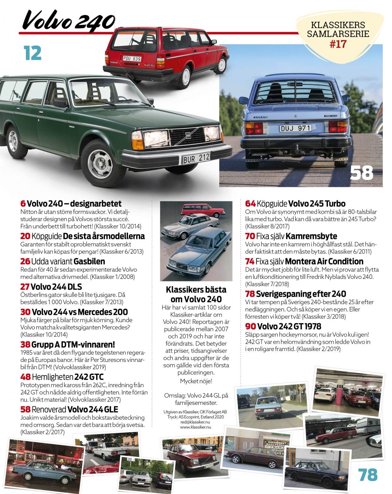 Samlaralbum #17 – Volvo 240