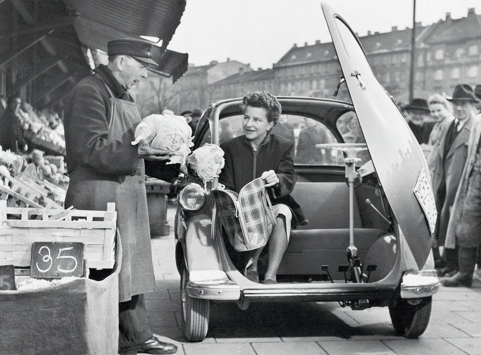 Titta vilken praktisk shoppingbil det var!