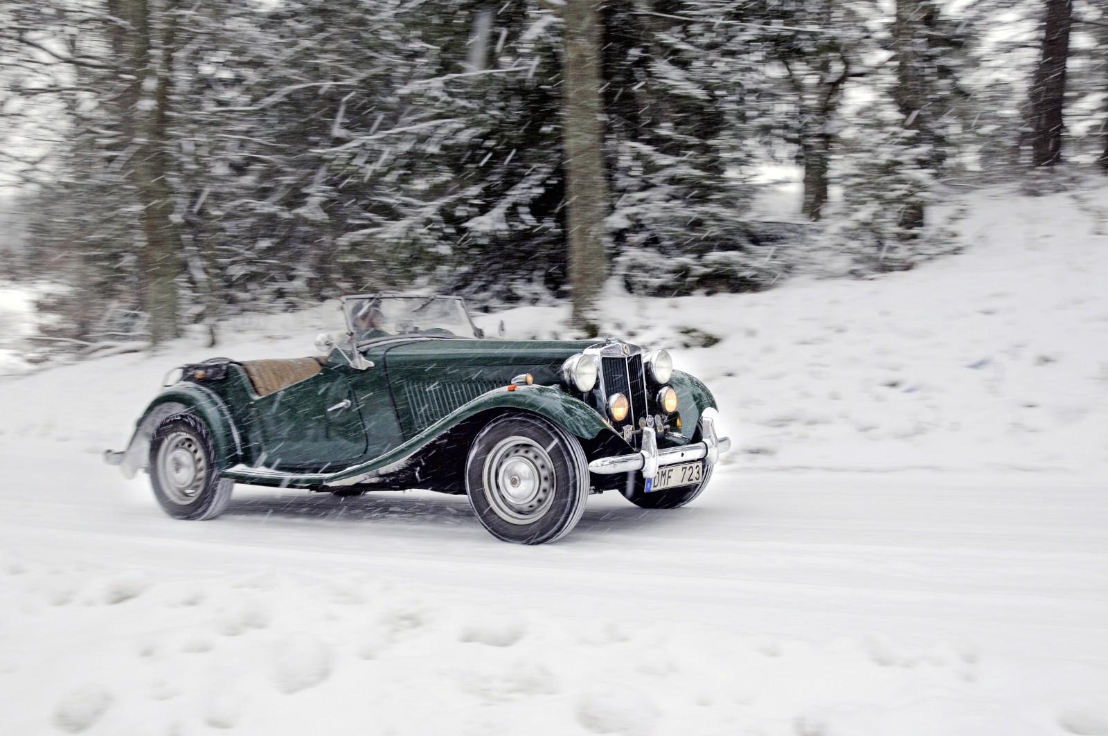 Kör du klassiker på vintern?
