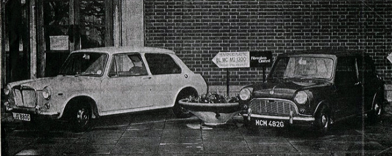 Minibilarna från Manx