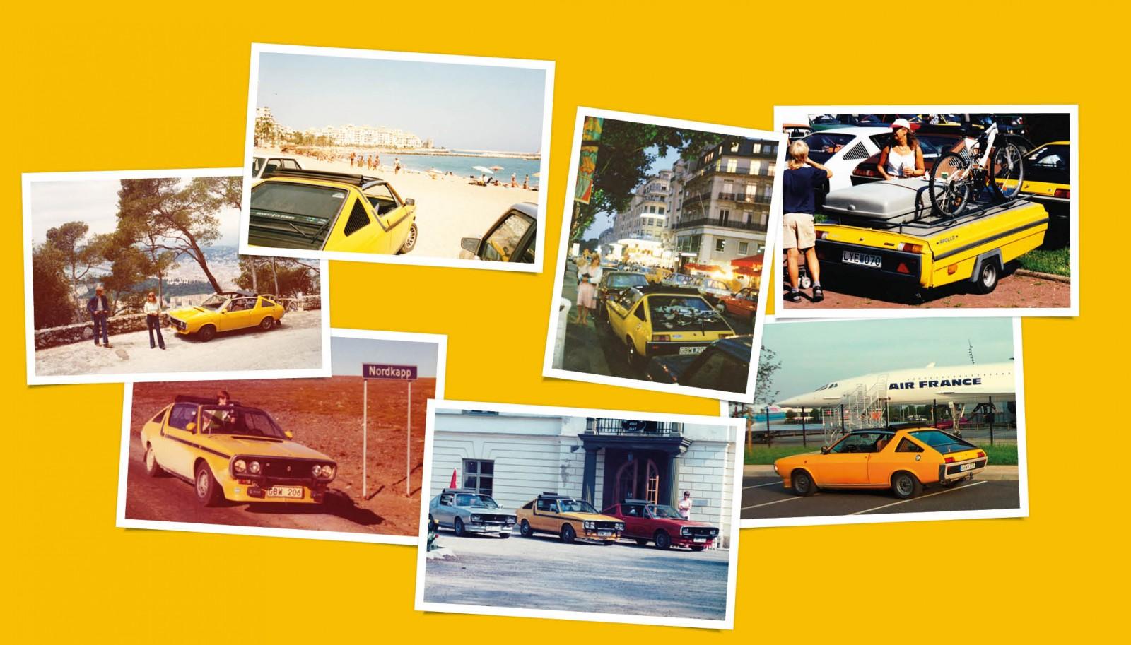 Resmålen har blivit många genom åren, från första resan till Nice direkt efter inköpet har det fortsatt till dagens datum. Tältvagnen Camp-let har självklart utrustats med en komplett bakdel från Renault 17.