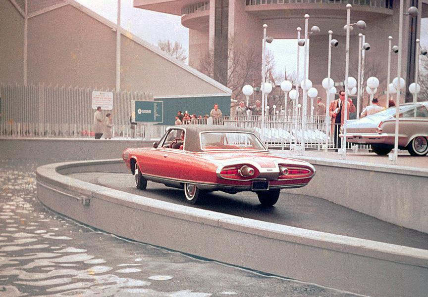 I en fontän 1964