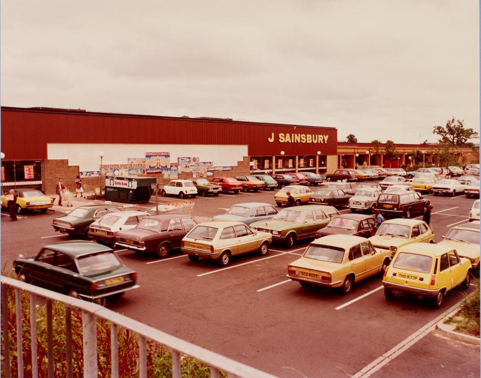 Southampton 1978: Triumph Toledo och Dolomite, Volvo, Wolseley, Allegro, Renault 5, Datsun, Scirocco, Cortina...