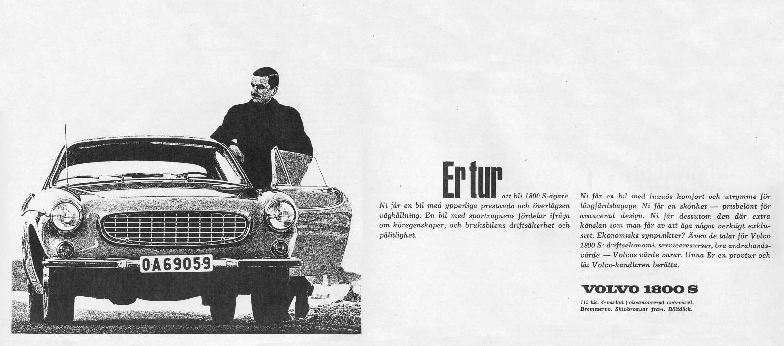 Specialutgåva: Volvo P1800!