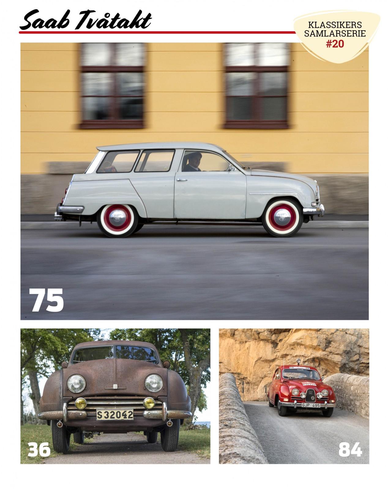 Samlarutgåva: Saab Tvåtakt!