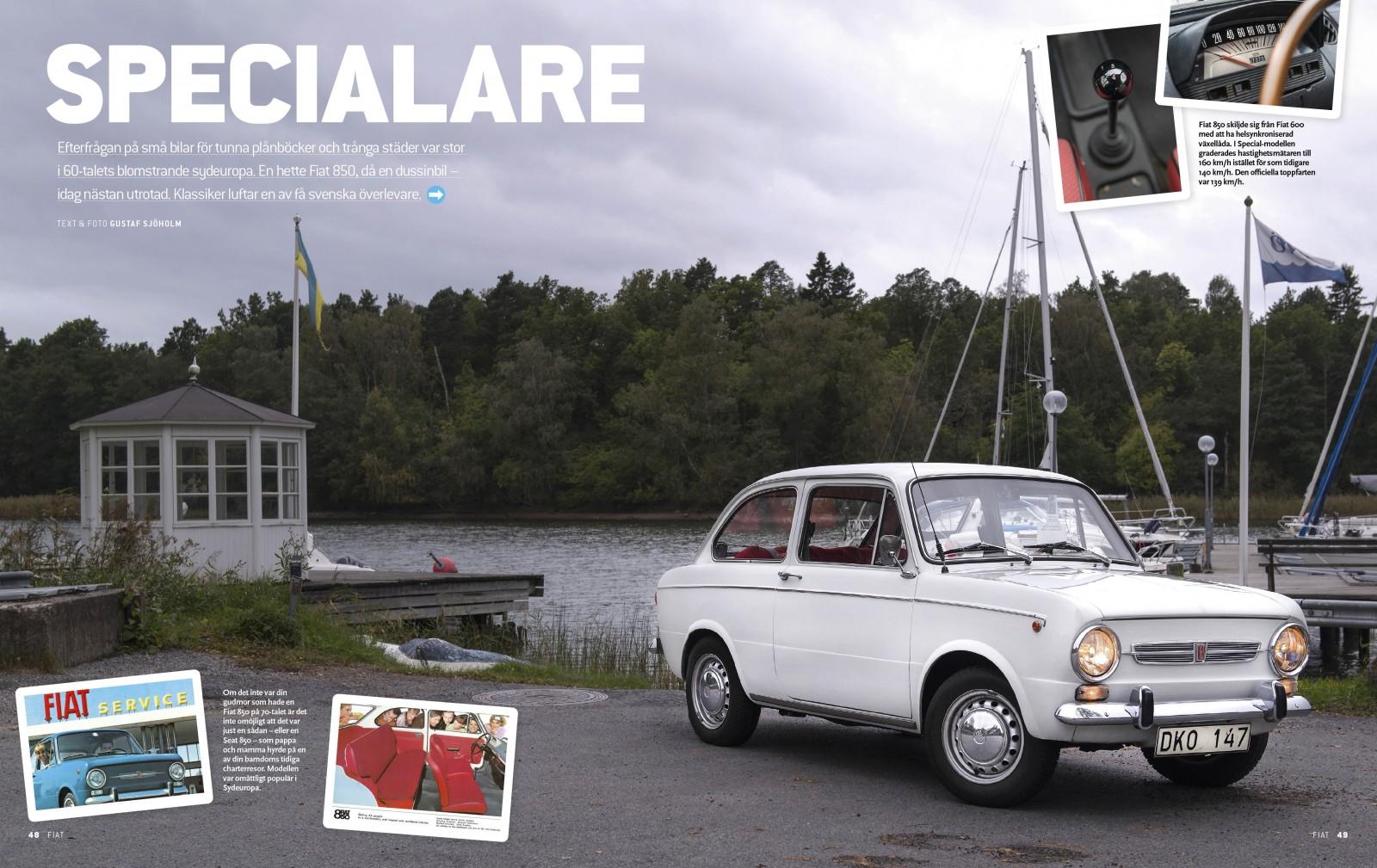 Samlarutgåva: Fantastiska Fiat från förr!