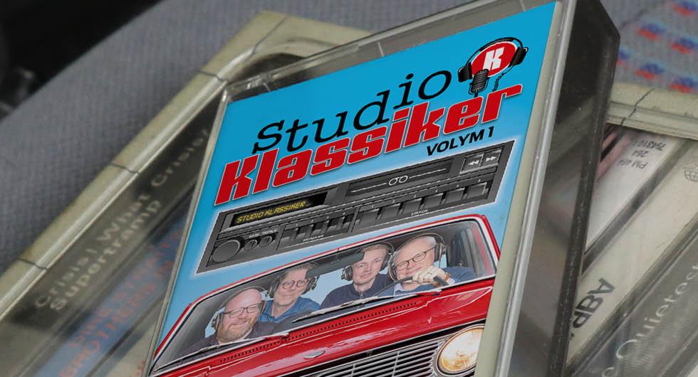 Podcast i fräscht format: Studio Klassiker på kassett!