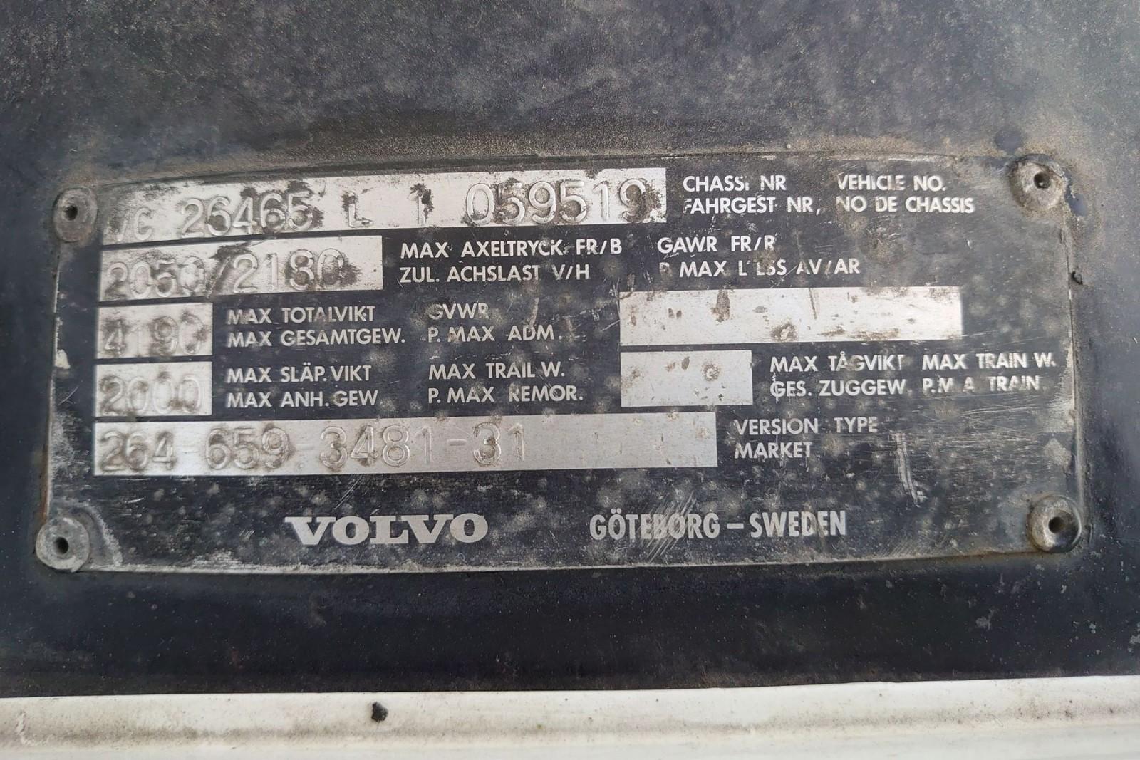 Hårda bud – Volvo 240 Turbo pickup på auktion!