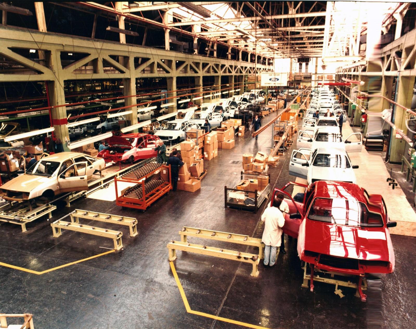 Fabriksbild från 1983.