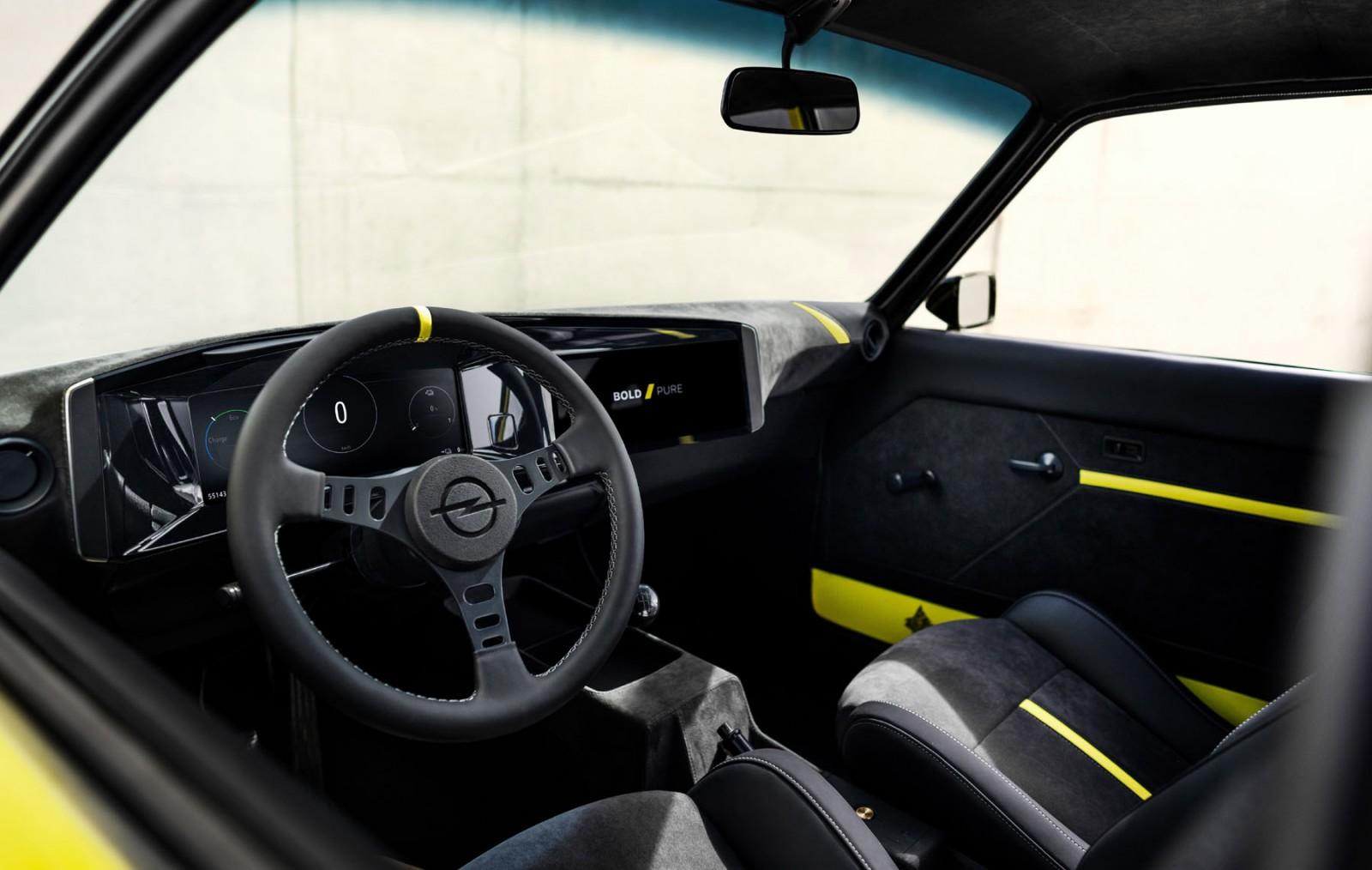 Opels moderna Manta