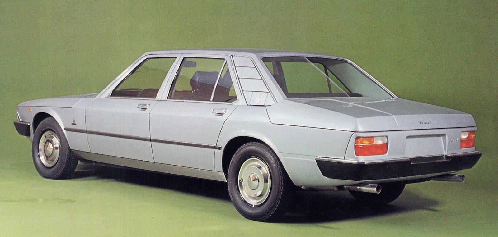 Maseratis märkligaste modell
