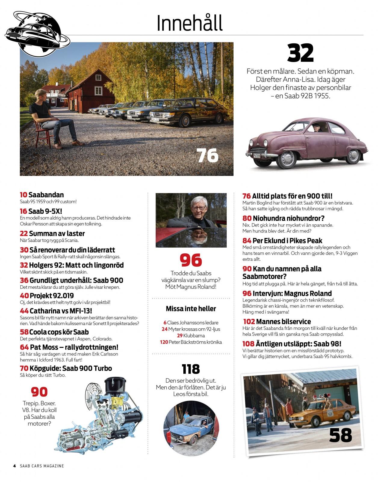 Saab Cars Magazine #6 – Peak performance!