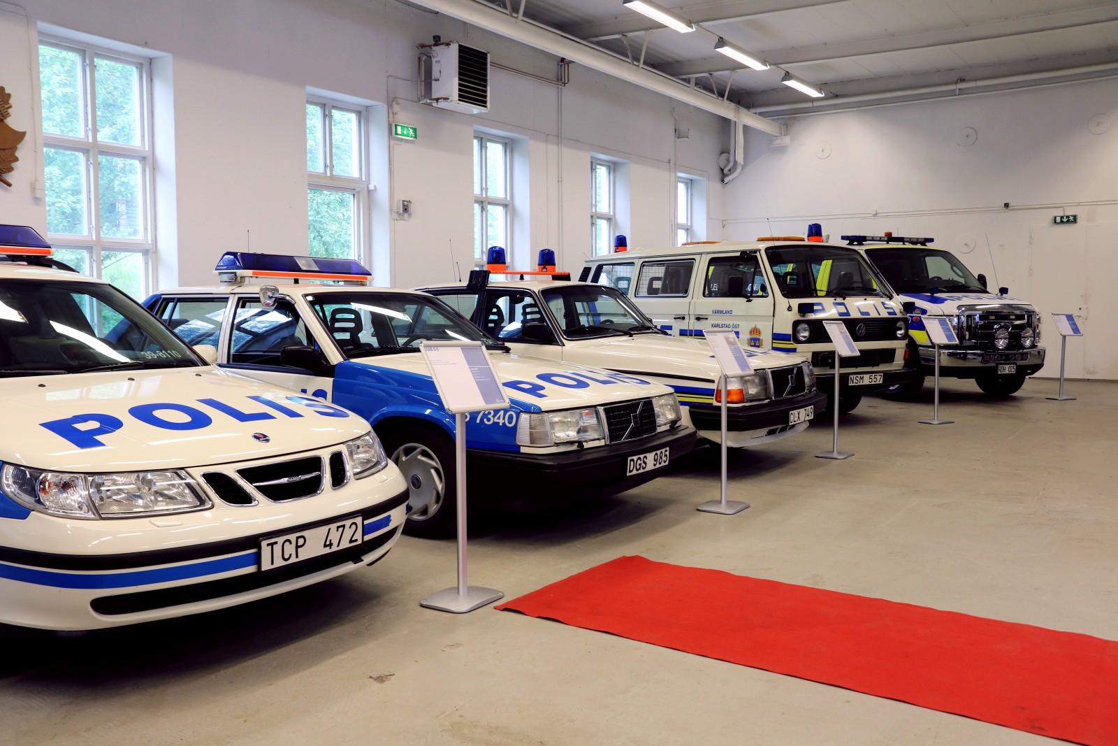 Polismuseet öppnar fordonssamlingen för besök