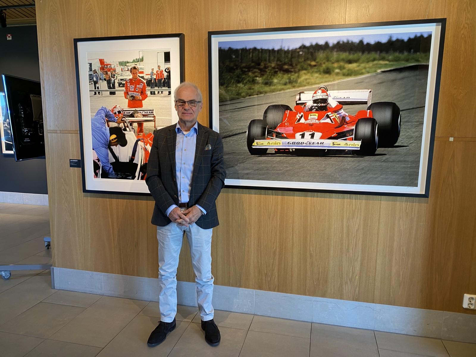 Fotoutställning om F1 på Anderstorp