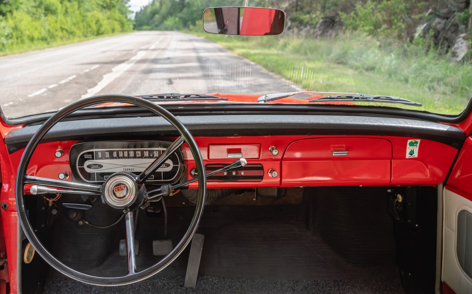 Mogen dans: Ford Taunus 12M