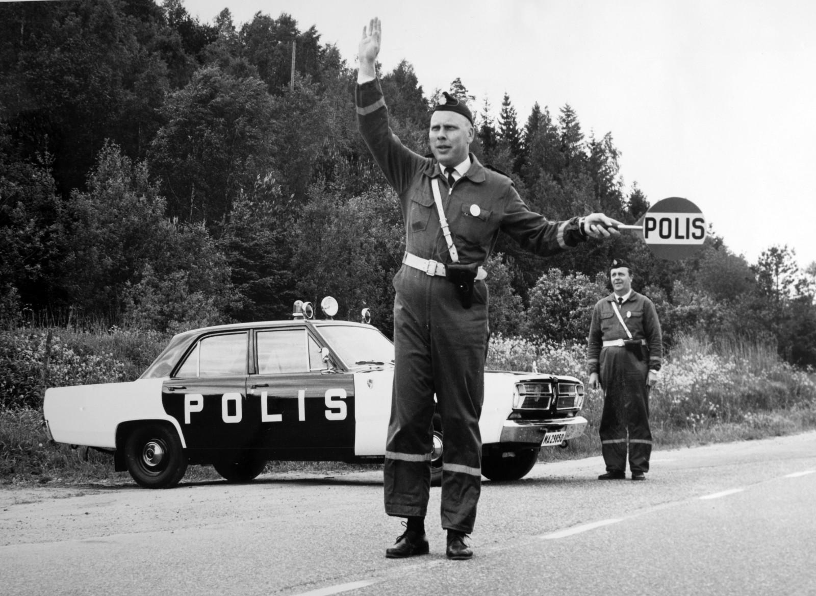 Ny bok om polisbilar