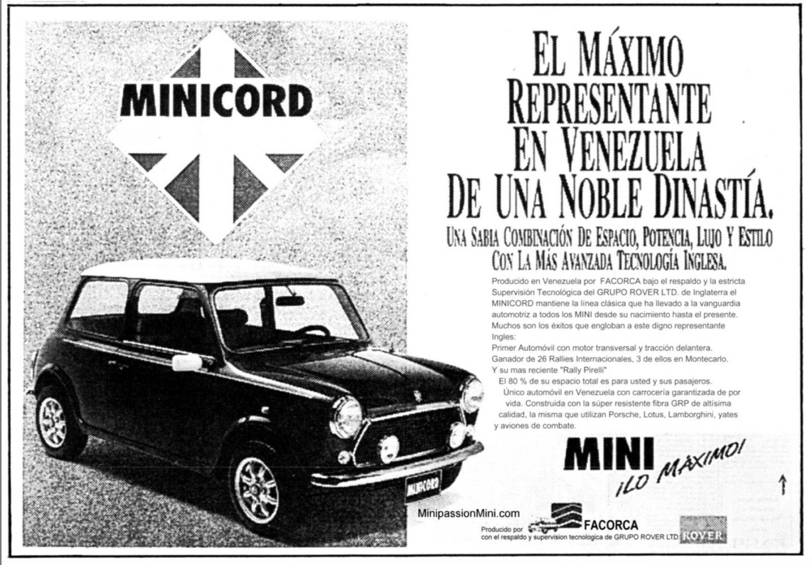 En plastig Mini!