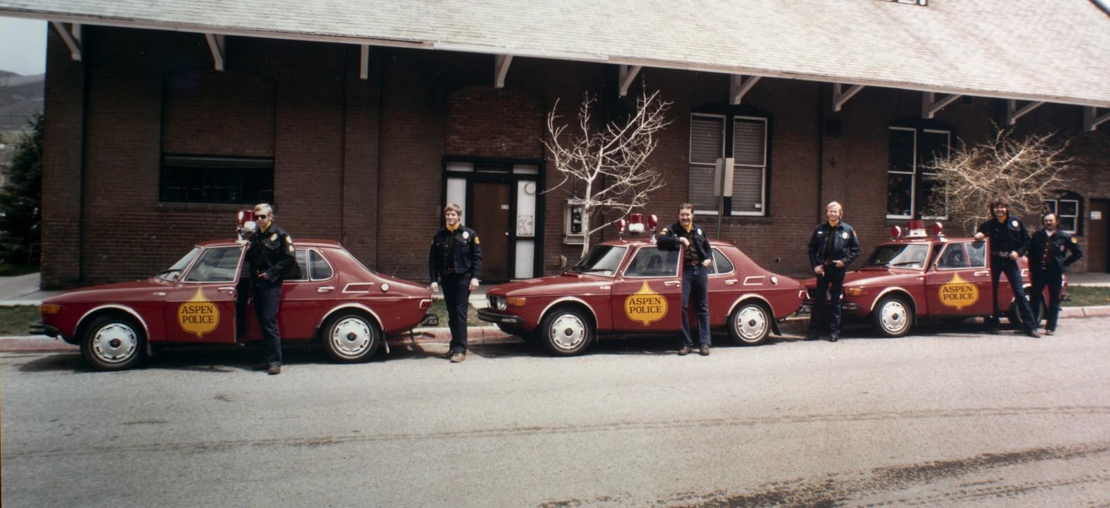 Fjällräddningen – Saab som polisbil!
