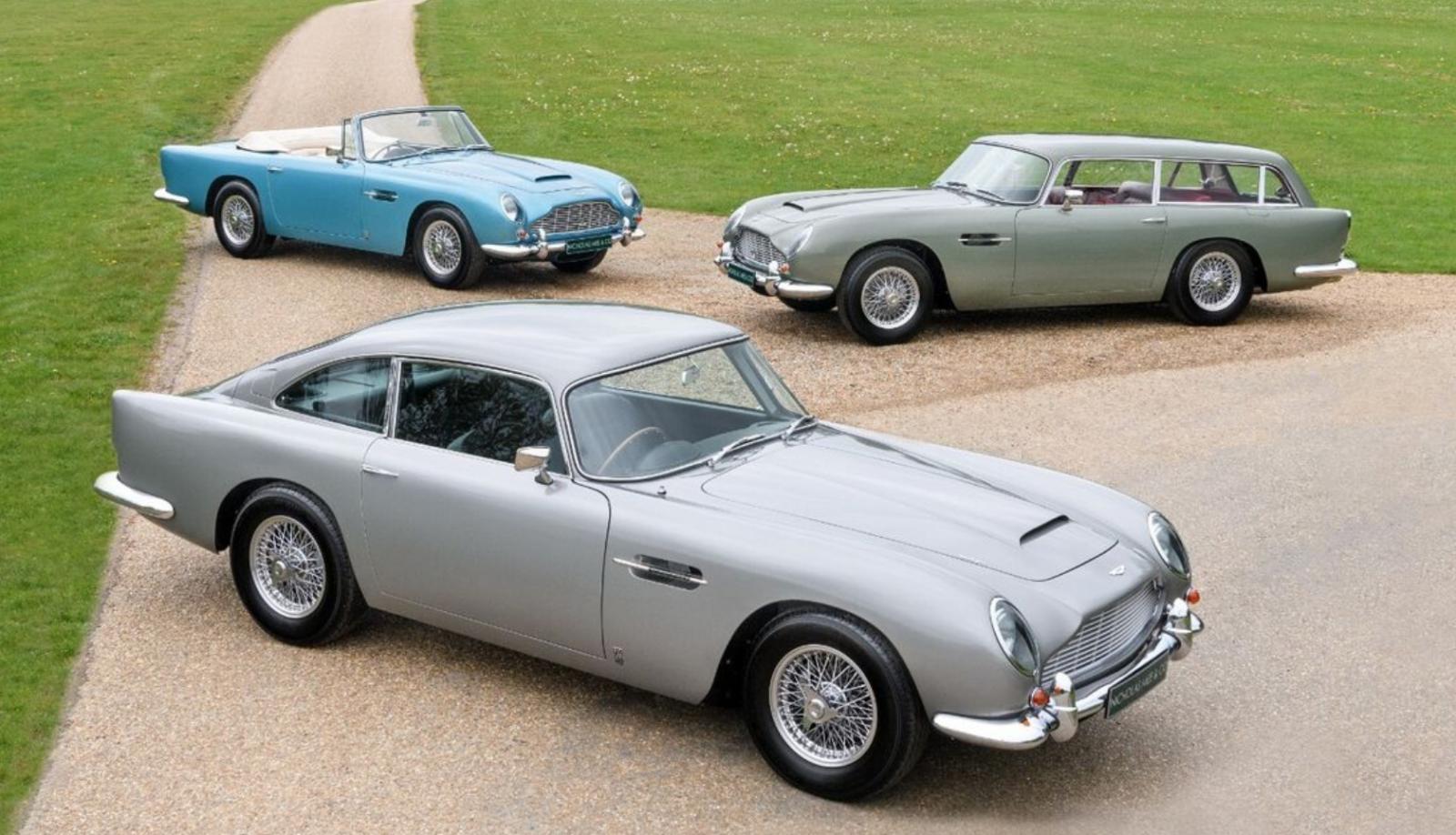Aston Martin-trio till salu!