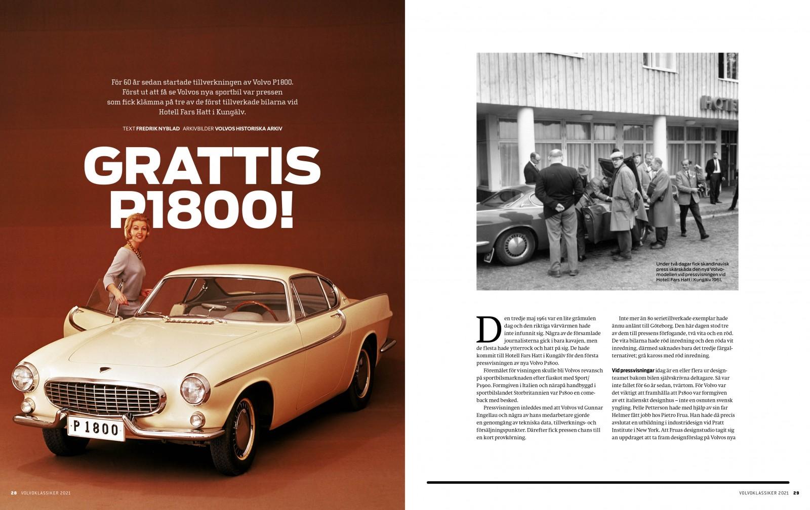 Ny specialutgåva om Volvo – 124 sidor kvalitetsläsning