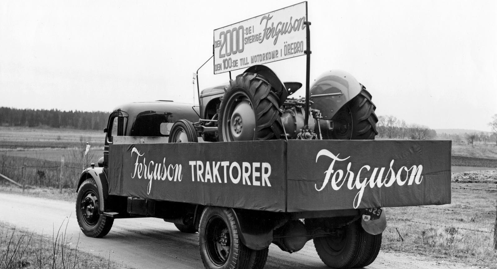 Ferguson TE-20 Grålle 1946–56