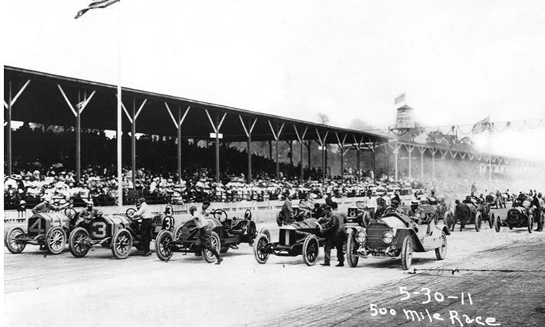 För 110 år sedan i Indianapolis