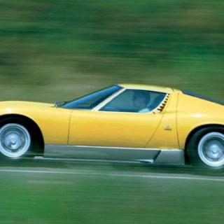Lamborghini Miura 50 år