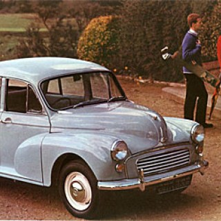 Morris Minor: Jolly good show!