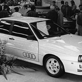 Audi Quattro pratar ut!