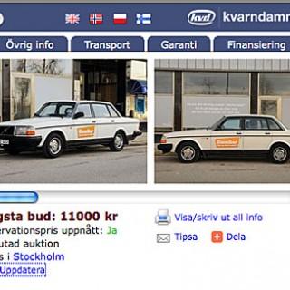 Klassikers Volvo på auktion!