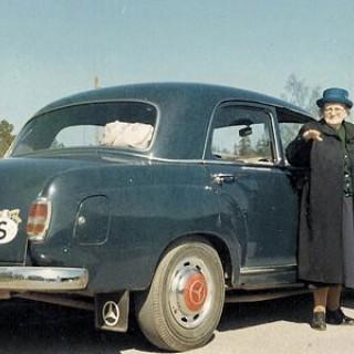 Mercedes-byte hos Berra
