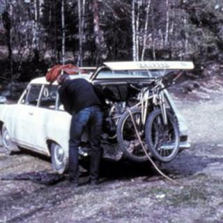 32 mil i en gammel Opel